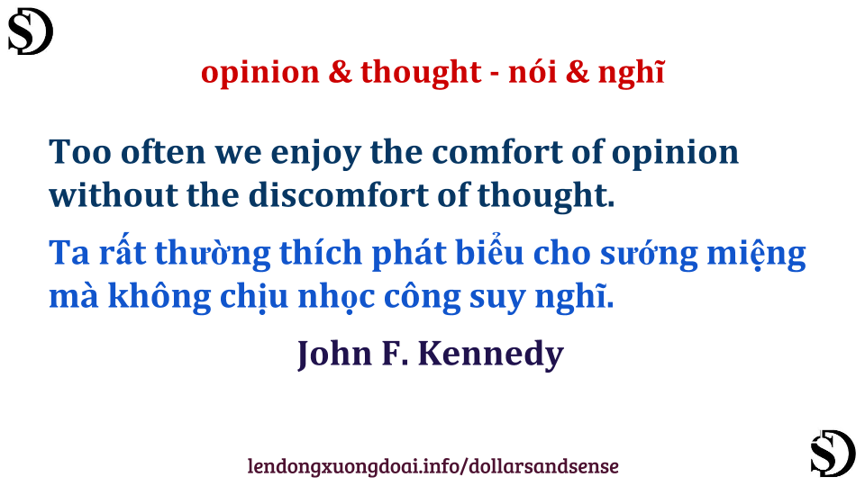 opinion-thought
